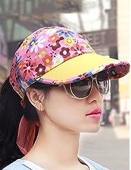 Version coréenne de l'été Visor réglable Outdoor Mme Adjustable Cap Baseball (3 couleurs en option)