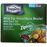 200860 Toppits Mini Zip-Verschluss Beutel , Inhalt 40 Stk in zwei Größen