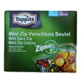 mini sacchetto a chiusura zip Toppits Ziploc Assortment (20 x 150 ml, 20 x 380 ml) - 40 St.