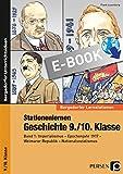 Stationenlernen Geschichte 9./10. Klasse - Band 1: Imperialismus - Epochenjahr 1917 - Weimarer Republik - Nationalsozialismus (Bergedorfer Lernstationen)