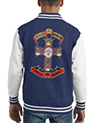 Santa N Rudolph Appeteie For Deliver Christmas Kid's Varsity Jacket
