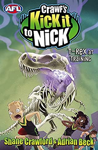 book cover of T-Rex at Training