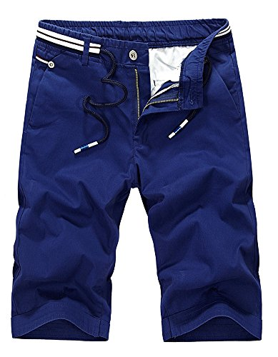 DQQ Herren Short Gr. 33, Blau - Blau (Pocket-basketball-shorts 3)