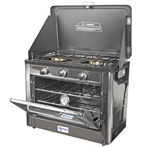 Kampa Roast Master double plaques de cuisson gaz et four