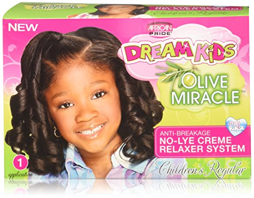AFRiCAN PRIDE DREAM KIDS ANTI BREA NO-LYE RELAXER Regular - Creme Hair Relaxer
