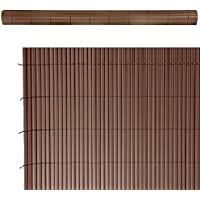 Cañizo artificial de ocultación para jardín de PVC marrón - Lola Derek