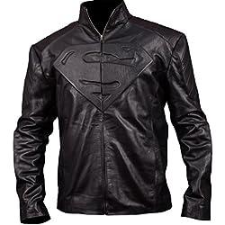 F&H Boy's Superman Jacket XXS Black