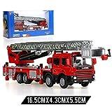XUEQIN Kind-Legierungs-Simulations-Feuer-LKW-Spielzeug-Modell-Satz-Leiter-Löschfahrzeug 119 Feuer-Motoren-Spielzeug ( Farbe : 1 )