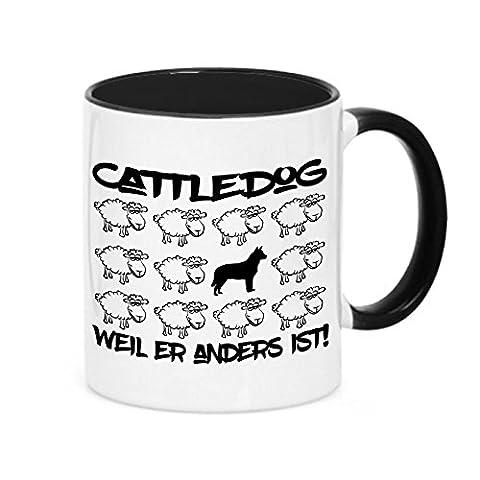 Tasse BLACK SHEEP - CATTLEDOG Australian Cattle Dog - Hunde