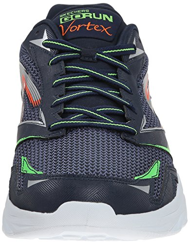 Skechers Go Run Vortex, Sport/loisirs homme Bleu (Marine/Orange)