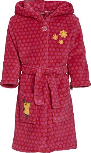 Preisvergleich Produktbild Playshoes Mädchen Bademantel Fleecebademantel, Morgenmantel DIE MAUS, Oeko-Tex Standard 100, Gr. 98 (Herstellergröße: 98/104), Rosa (original 900)