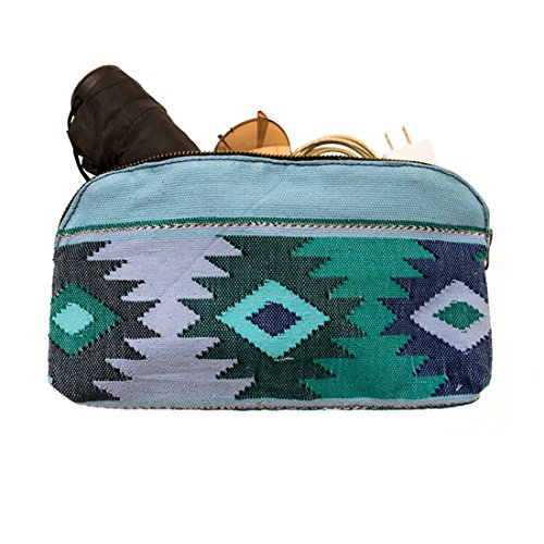 large-guatemalan-native-comalapa-canvas-and-leather-all-purpose-dopp-kit-utility-bag-cords-chargers-