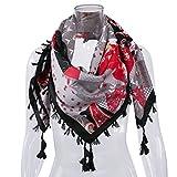 WanYang Una Varietà Di Colori Donna Stampato Sciarpe E Foulard Grande Multifunzione Sciarpa Quadrata Di Modo