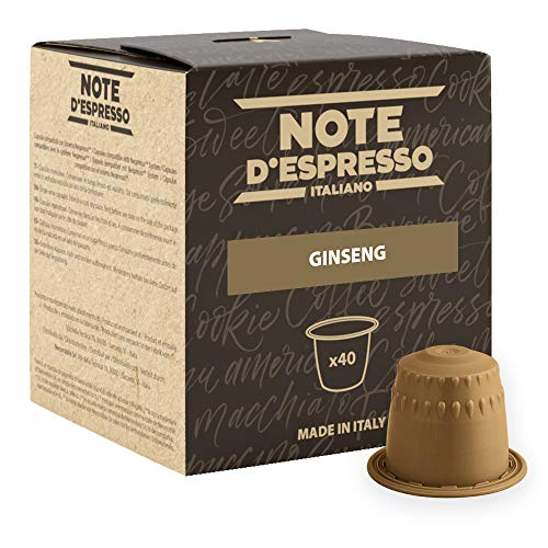 Note D'Espresso Kapseln Ginseng Instant, 4,3g x 40 Kapseln