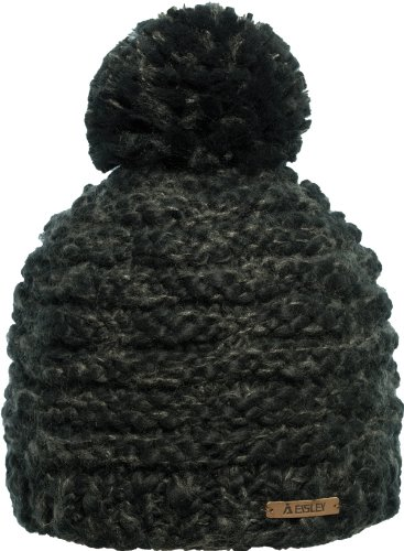 Eisley Mütze Diva Schwarz, One Size Fleece-visor Beanie
