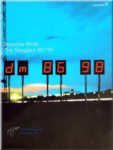 Depeche Mode - Singles 86-98 - Songbook Noten [Musiknoten] (Mode-single)
