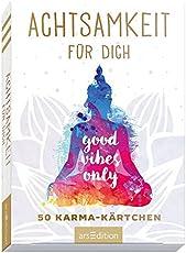 Achtsamkeit für dich: 50 Karma-Kärtchen