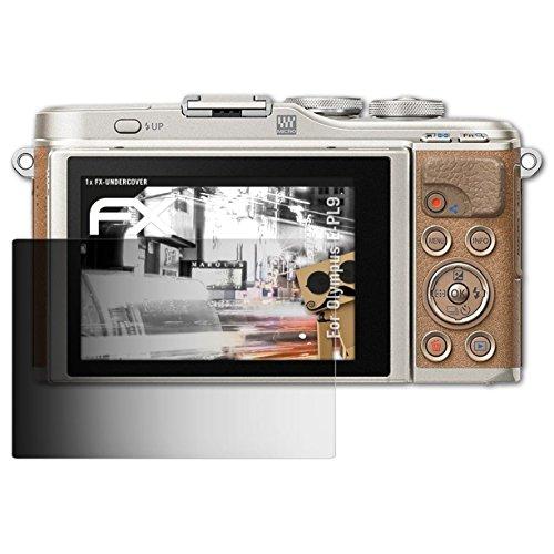 atFoliX Blickschutzfilter für Olympus E-PL9 Blickschutzfolie - FX-Undercover 4-Wege Sichtschutz Displayschutzfolie