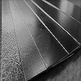 Flachstahl Flachmaterial Flacheisen V2A, V4A, Aluminium, Stahl, Edelstahl (V4A 1mm x 30mm x 1000mm)