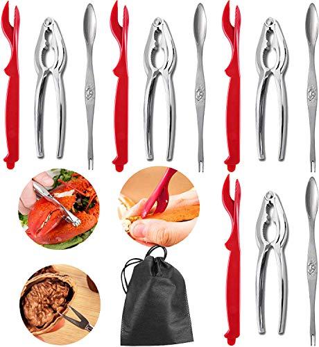 Seafood Tools Krabben-Knallbonbon-Set - inkl. 4 Gabeln und 2 Hummer-Knallbonbons