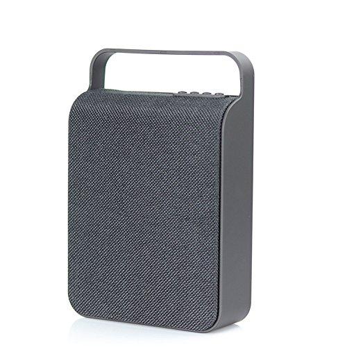 Garyesh Bluetooth Tragbar Kabellos Draussen Stereo Redner Unterstützungs-TF-Karte und U-Scheibe (Schwarz)