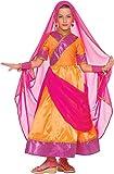 Generique Bollywood Prinzessin Kostüm für Mädchen 146 (8-10 Jahre)