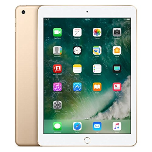 "Apple iPad - Tableta de 6° Generación (24.6 cm (9.7 ""), 2048 x 1536 píxeles, 32 GB, iOS 11, 469 g, Dorado)"