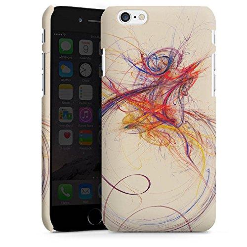Apple iPhone X Silikon Hülle Case Schutzhülle Striche Farbe Modern Premium Case matt