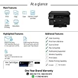 HP Laserjet Pro M1136 Multifunction Monochrome Laser Printer (Black)