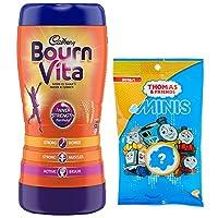 Cadbury Bournvita Health Drink, 1 kg jar with Thomas and Friends Toy.