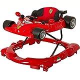 Ferrari f1 Gehfrei Lauflernhilfe Laufhilfe Gehhilfe Spielcenter SILIKON-Rollen **TREPPEN FALLSCHUTZ** Stufenlose Sitzhöhenverstellung (Ferrari f1)