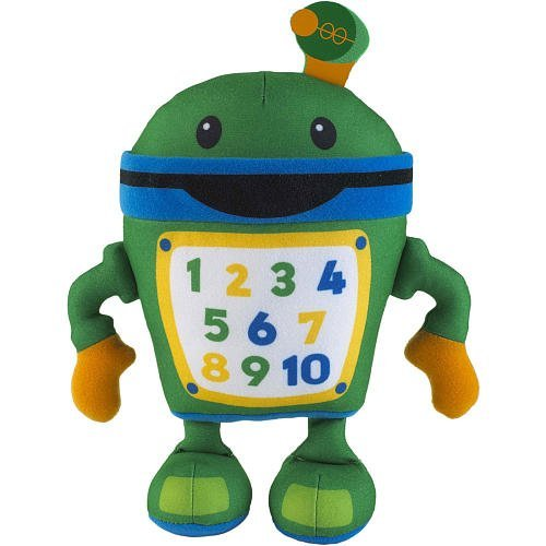 Fisher Price Toy - Team Umizoomi - 9 Inch Plush Figure - Bot Doll