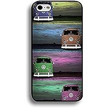 Creative Design VW Camper Van Phone Case Cover for Iphone 6 Plus/6s Plus 5.5 Inch Volkswagen Luxury Pattern
