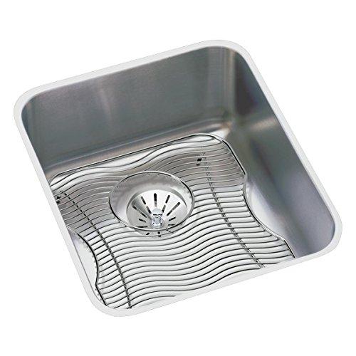 Elkay ELUH1316PDBG Gourmet Perfect Drain Package Kitchen Sink, 16 x 18.5 by Elkay (Elkay 16)