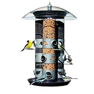 Opus Opus Triple Tube 2-in-1 Wild Bird Feeder