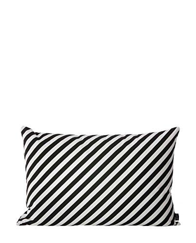 Ferm Living Kissen 40 x60 cm schwarz weiß gestreift Black Stripe Cushion - 3