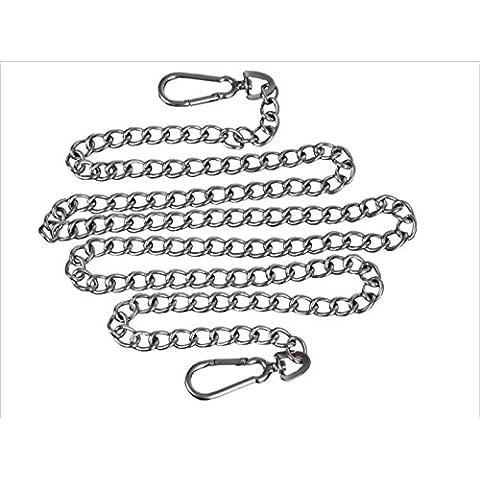 Guinzaglio lungo gancio catena catene d'acciaio di