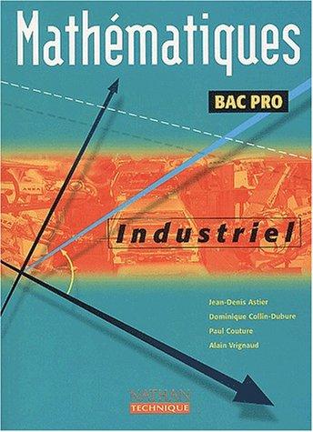 Mathématiques Bac Pro industriel