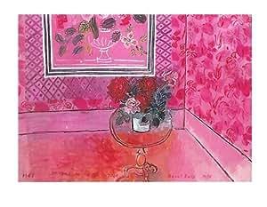 Trente Ans Ou La Vie En Rose Poster Dufy Par Raoul Lapiz - 60 cm x 80 cm