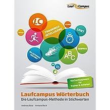 Laufcampus Wörterbuch: Die Laufcampus-Methode in Stichworten