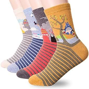Dani's Choice Damen Socken Mehrfarbig mehrfarbig Gr. One size, 4 Pairs