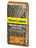 Floragard Blähton Tongranulat zur Drainage 5 L, Hydrokultursubstrat