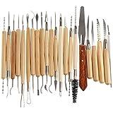 Tenflyer Acero inoxidable Herramientas Kit Set de Cerámica / Escultura / Cerámica / arcilla del polímero Talla Modelado Uso