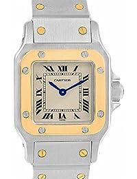 ed282b66c94ee Cartier Santos Galbee 1567 - Reloj de Cuarzo para Mujer (Certificado de  autenticidad)