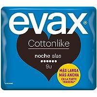 Evax Cottonlike Noche Compresas con Alas - 9 Unidades