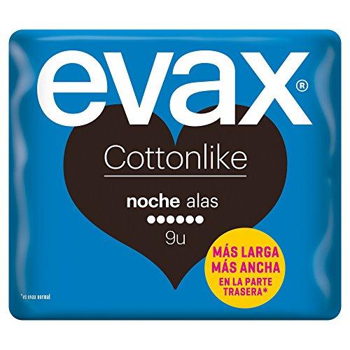 Evax Cottonlike Alas Noche - 9 Compresas