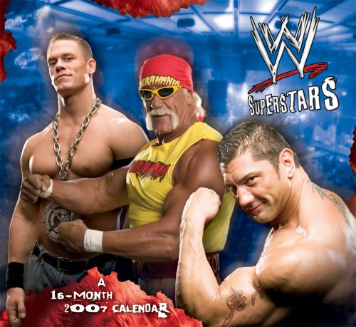 WWE Superstars 2007 Calendar (Usa Wrestling Poster)