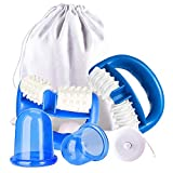 Cellulite Massager, Aibeau Anti Cellulite Massage Roller and Cupping Cup Set for Cellulite
