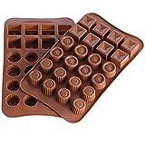 Laifan Hot Silikon Kuchen Form Geometrie Backen Form Schokolade Clay Formenbau Form Küche DIY