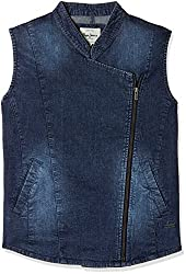 Pepe Jeans Womens Cotton Jacket (PILT200601_Ind-Blue_X-Large)